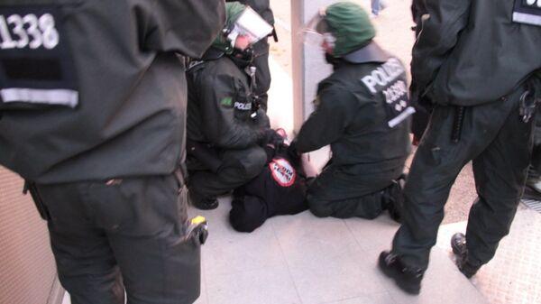 Беспорядки в Берлине