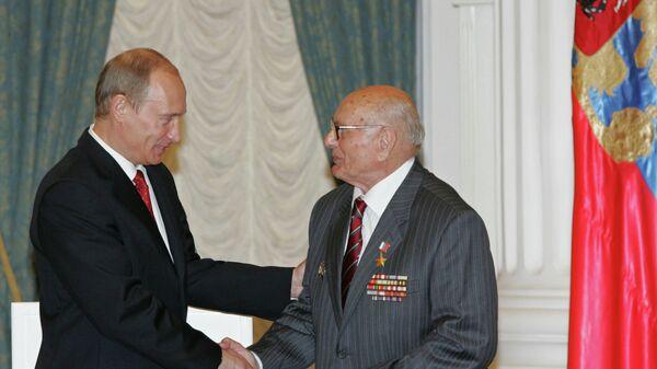 Президент России и Алексей Ботян. Архивное фото