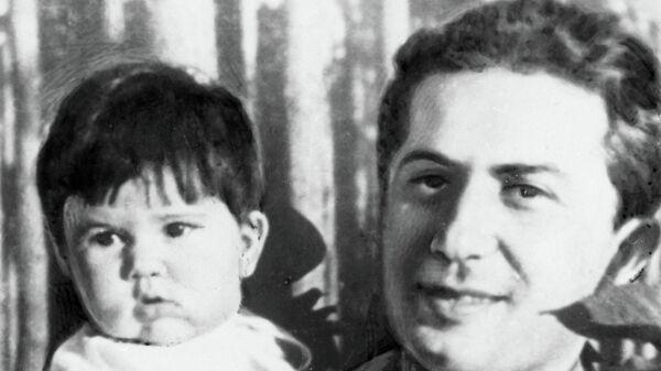 Яков Джугашвили с дочерью