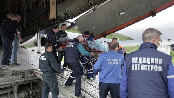 Пострадавшие в ДТП на Ставрополье дети доставлены в Москву