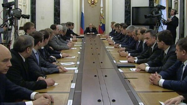 Путин дал напутствие и пожелал удачи новому кабинету министров РФ
