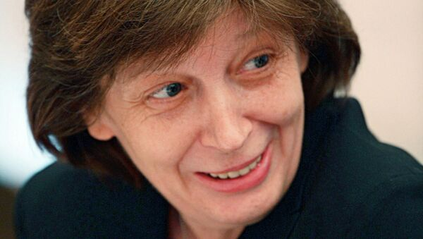 Лариса Брычева. Архивное фото