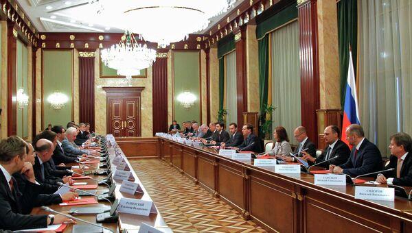 Экспертный совет при правительстве РФ. Архивное фото