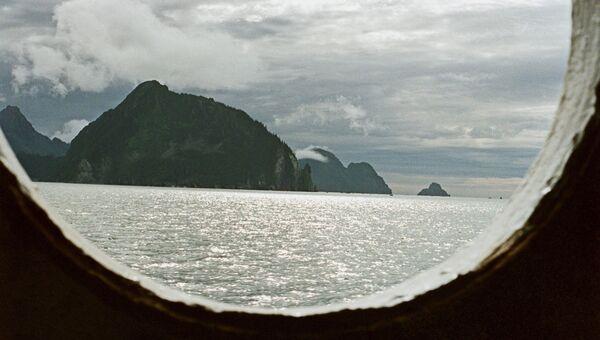 Вид на Аляску. Архивное фото