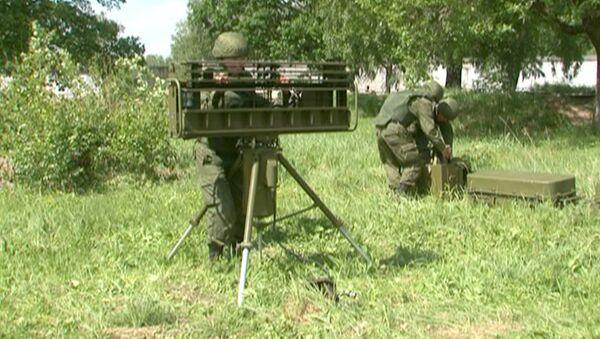 Бойцы ВДВ развернули радар Гармонь и уничтожили цель из ЗРК Стрела-10