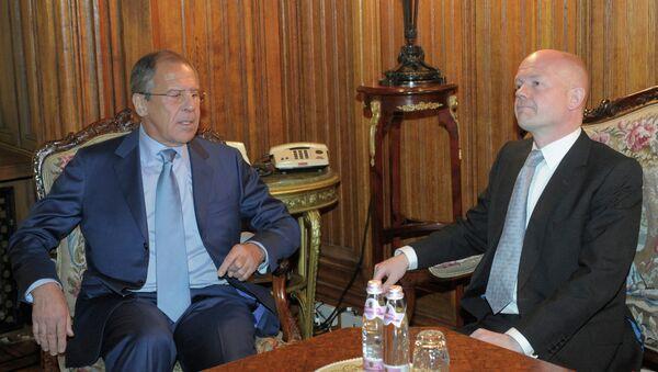 Встреча Сергея Лаврова с Уильямом Хейгом