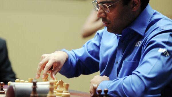 Индийский гроссмейстер, чемпион мира по шахматам Вишванатан Ананд. Архив