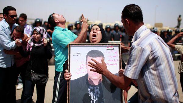 Реакция людей на приговор Мубараку