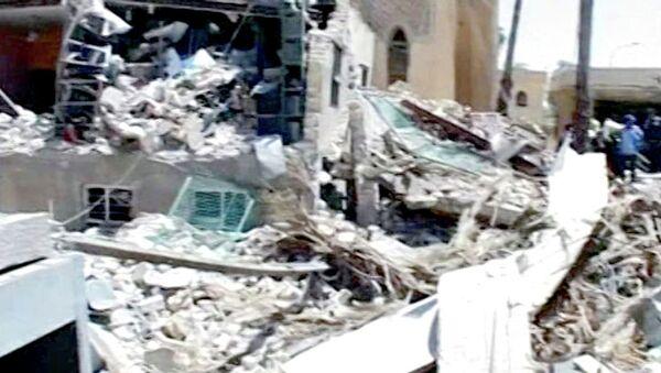 Смертник подорвался в Багдаде у здания шиитской общины. Кадры с места ЧП