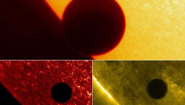 Прохождение Венеры по диску Солнца в 2004 году