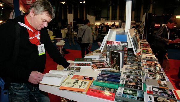 Российская экспозиция на книжной ярмарке BookExpo America. Архивное фото