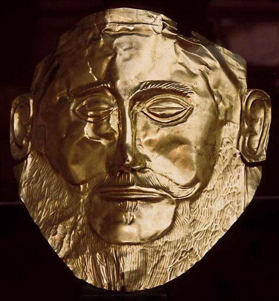 Погребальная маска т.н. «маска Агамемнона»