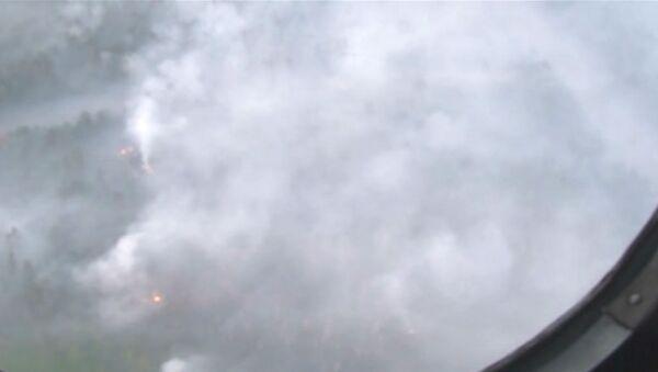 Ликвидация последствий пожара и взрыва на военном складе под Оренбургом