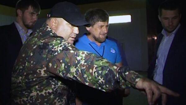 Кадырову показали тела убитых боевиков, готовивших покушение на него