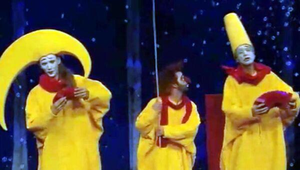 Снежное шоу Славы Полунина в формате 3D. Трейлер фильма