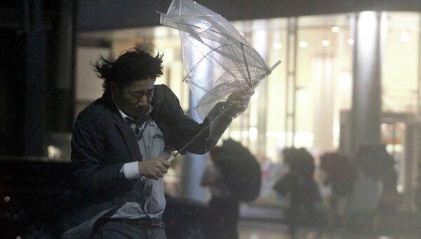Тайфун Гучол в Токио