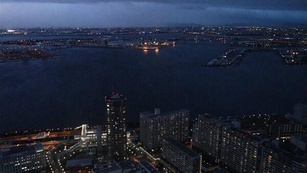 Вид на Осаку с Площади Космо. Архивное фото