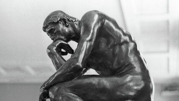 Скульптура Огюста Родена Мыслитель