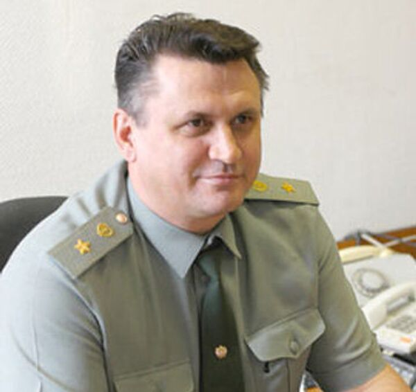 Генерал-майор медицинской службы Юрий Сабанин