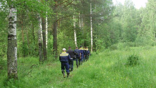 Поиск самолета Ан-2 в Свердловской области
