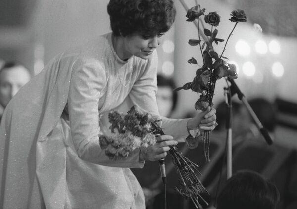 Народная артистка СССР Эдита Станиславовна Пьеха