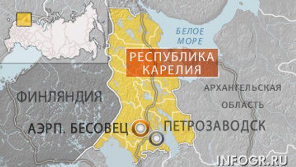 Карелия, аэропорт Бесовец