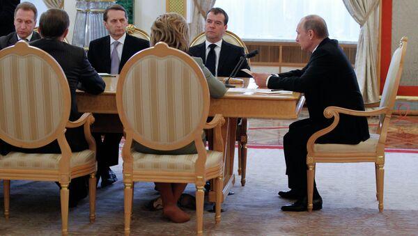 В.Путин выступил с Бюджетным посланием на 2013-2015 гг.