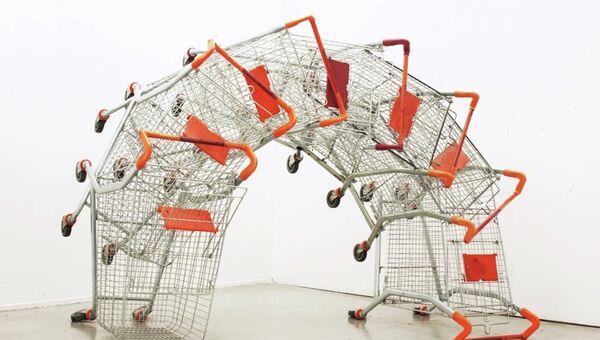 Экспонат на Биеннале молодого искусства, Ting Tong, Chang, 2011