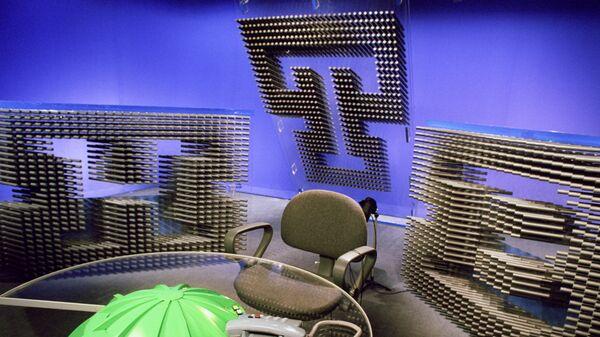 Студия телекомпании НТВ