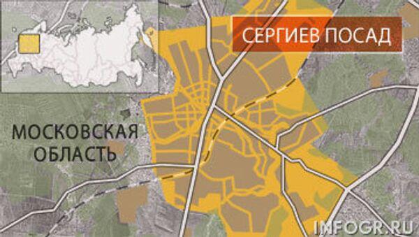 Сергиев Посад. Карта