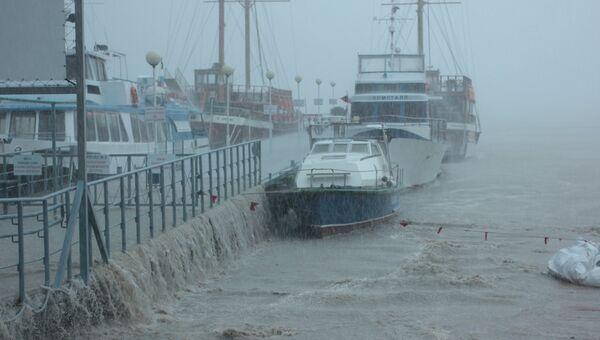 Наводнение в Геленджике