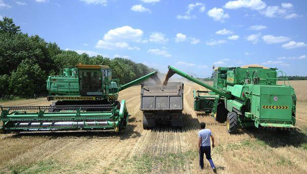 Сельскохозяйственная техника. Архивное фото