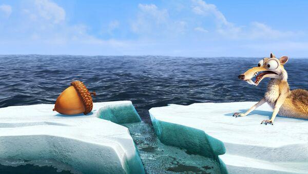 Кадр из мультфильма Ледниковый период 4: Континентальный дрейф