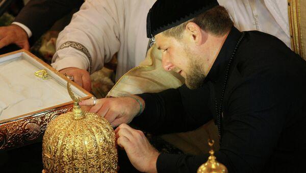 В Грозный доставлены святыни, связанные с пророком Мухаммедом