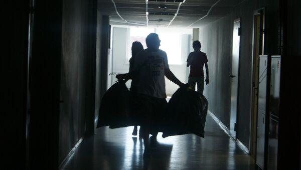 Сбор помощи для пострадавших от наводнения на Кубани