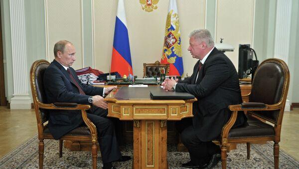 В.Путин встретился с М.Шмаковым