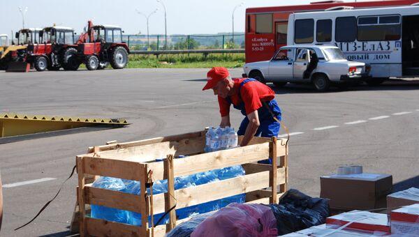 Гуманитарная помощь из Елабуги для Крымска