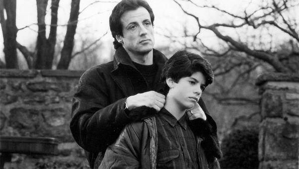 Сильвестр Сталлоне и его сын Сэйдж