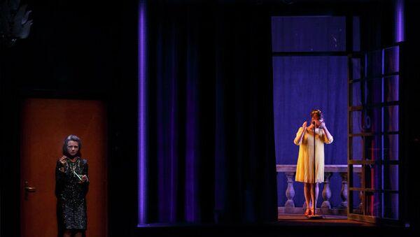 Спектакль Ночь наступает Гийома Винсана