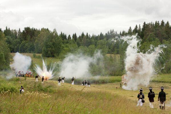 Фестиваль исторической реконструкции в Ленинградской области