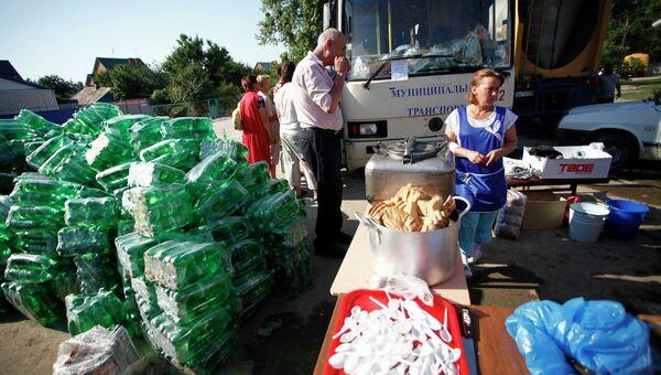 Ликвидация последствий наводнения в городе Крымск