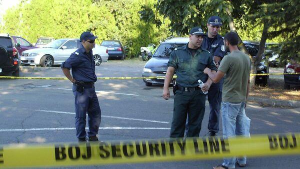 Взрыв автобуса с израильским туристами в Болгарии