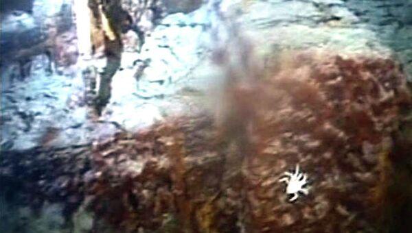 Кадры подводной съемки с затонувшего судна Gairsoppa