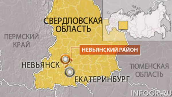 Невьянский район Сведловской области