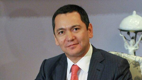 Премьер-министр Киргизской Республики Омурбек Бабанов. архивное фото