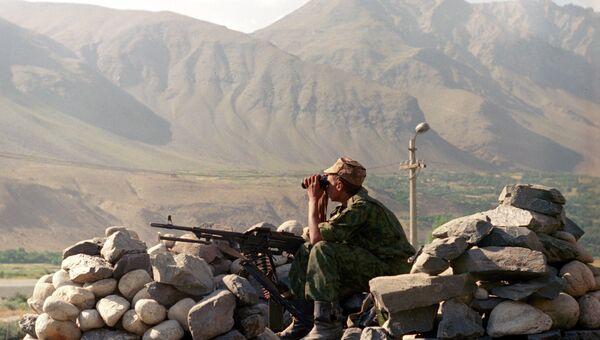Пограничный пост Хорогского пограничного отряда. Архивное фото