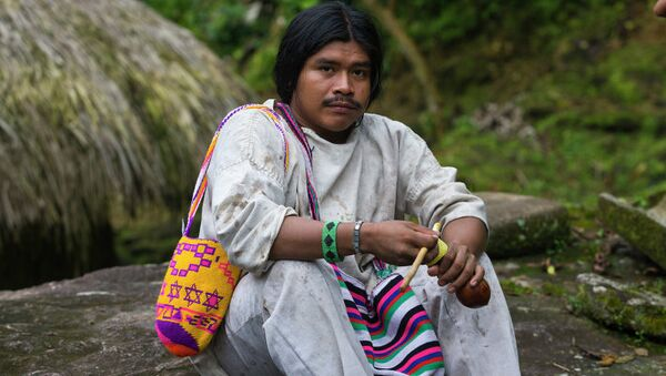 Индейцы Колумбии, архивное фото