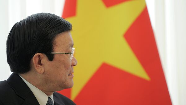 Президент Вьетнама Чыонг Тан Шанг. Архивное фото