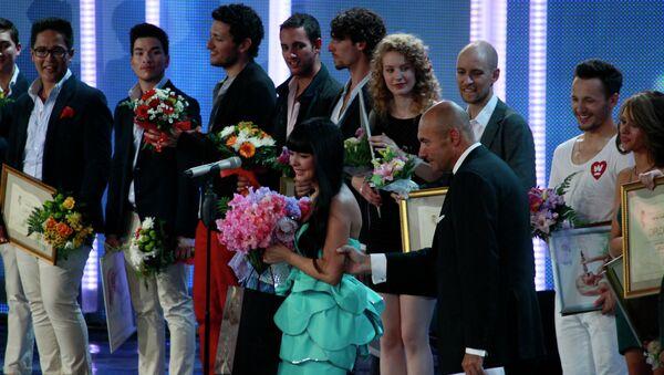 Закрытие международного конкурса Новая волна 2012