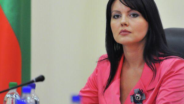 Министр иностранных дел Приднестровья Нина Штански. Архивное фото